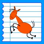 Comment dessiner un cheval dessin cheval dessins chevaux imprimer colorier maternelle cole ps - Dessiner un cheval facilement ...