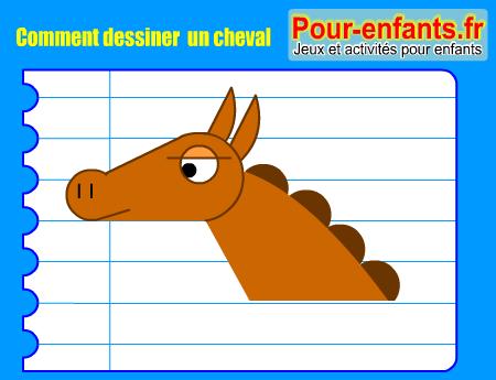 Pour enfants 2017 dessin tete cheval comment dessiner un cheval dessiner une t te de cheval - Dessiner des chevaux facilement ...