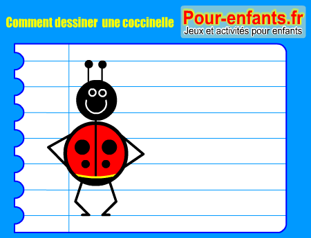 comment dessiner une coccinelle dessin coccinelle dessins colorier coccinelles imprimer colorier. Black Bedroom Furniture Sets. Home Design Ideas