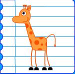 Comment Dessiner Une Girafe Dessin Girafe Dessins Girafes Imprimer