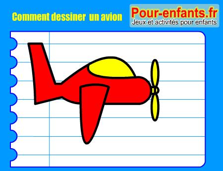 Apprendre comment dessiner avion pas pas dessin avions cours faciles par tapes gratuits - Dessin d avion facile ...