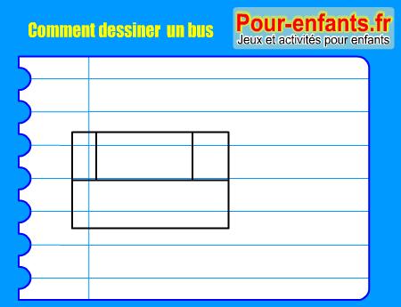 Apprendre comment dessiner cars bus pas pas dessin car cours faciles par tapes gratuits - Dessiner un bus ...