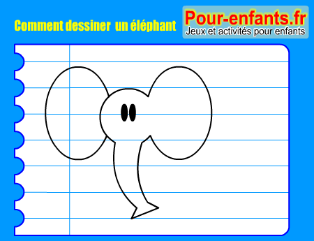 Apprendre à Dessiner Pas à Pas éléphant Dessin Elephants Cours