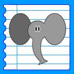 Dessiner animaux apprendre dessiner animal pas pas - Dessin elephant rigolo ...
