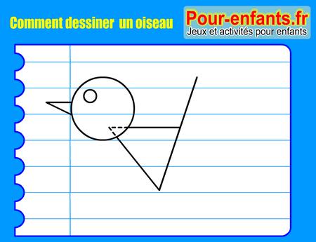 Apprendre dessiner pas pas oiseau dessin oiseaux cours faciles par tapes gratuits - Dessiner un oiseau ...