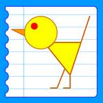 Dessiner animaux apprendre dessiner animal pas pas cours faciles par tapes gratuits dessin - Dessiner un oiseau en maternelle ...