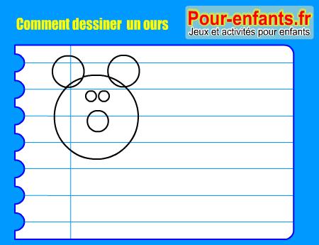 Apprendre dessiner pas pas ours dessin ours cours - Ours a dessiner ...