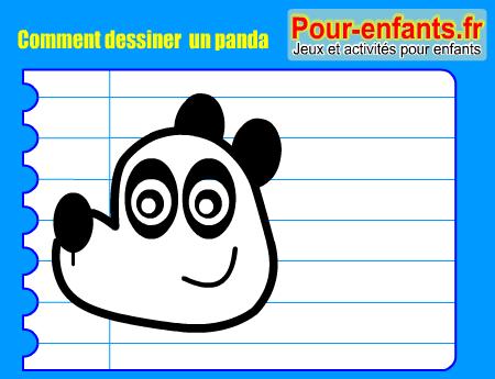 Apprendre à Dessiner Pas à Pas Panda Dessin Pandas Cours