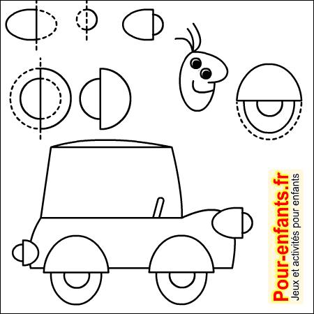 apprendre a dessiner une voiture