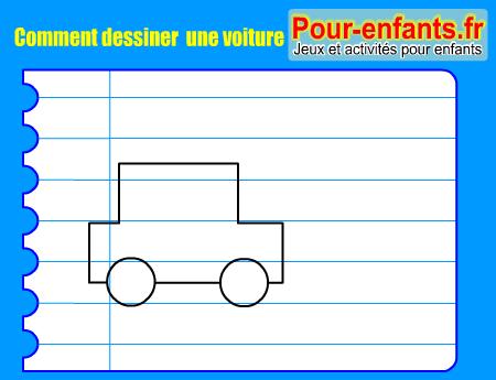 Apprendre comment dessiner voiture pas pas dessin - Jeux pour dessiner gratuit ...